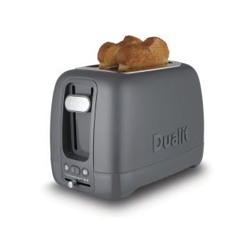 Dualit Domus 2 Slot Toaster 26603 - Solid Grey