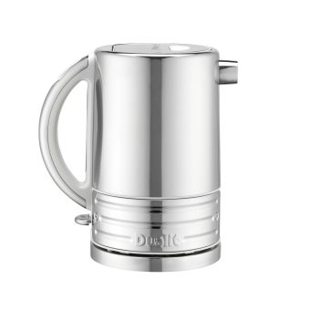 Dualit Architect Polished Stainless Steel Kettle 72923 - Canvas White