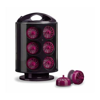 Babyliss 3663U Curl Pods Hair Heated Rollers, Storage pouch