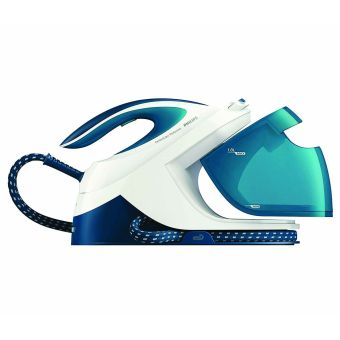 Philips GC8715/20 PerfectCare Performer Steam Generator Iron - White and Blue
