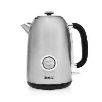 Princess 236028 Retro Kettle - Stainless Steel