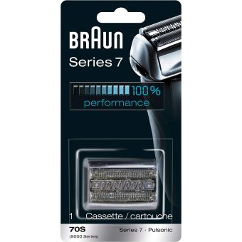 Braun 70S Shaver Replacement Part, Series 7 - Silver
