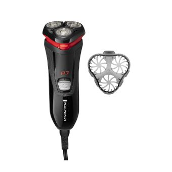 Remington R3000 Style Series R3 Electric Shaver - Black/Red
