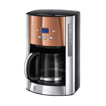 Russell Hobbs Luna 24320 Collection Filter Coffee Maker - Copper