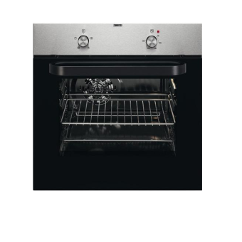 Zanussi ZZB30401XK 59.4cm Built In Electric Single Oven - Stainless Steel