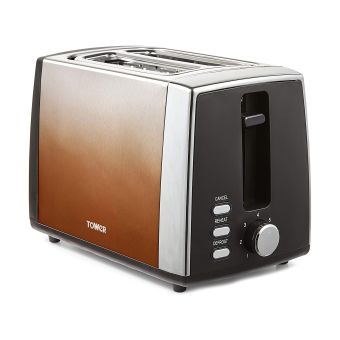 Tower T20038COP Ombre 2 Slice Toaster - Copper