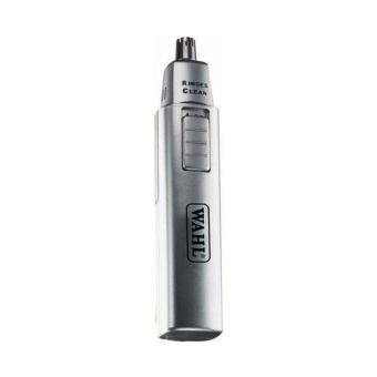 Wahl 5560-500 Satin Wet n Dry Nose/Ear Trimmer - Silver