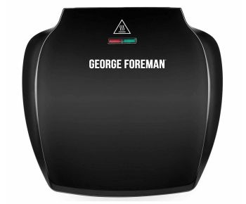 George Foreman 23420 Family 5-Portion Grill - Black