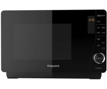 Hotpoint MWH2621MB Extra Space Solo Flatbed Microwave