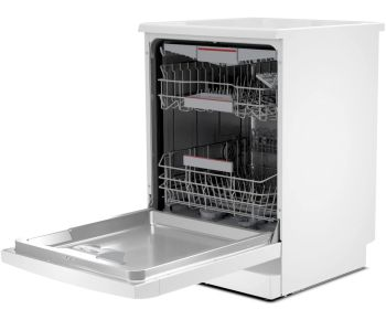 Bosch SMS4HCW40G Full Size Dishwasher - White - 14 Place Settings