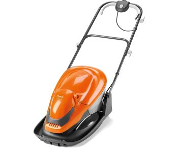Flymo EasiGlide 330 Hover Collect Lawn Mower - 1700W Motor, 33cm Cutting Width, 20 Litre Grass Box, Folds Flat, 10m Cable Length