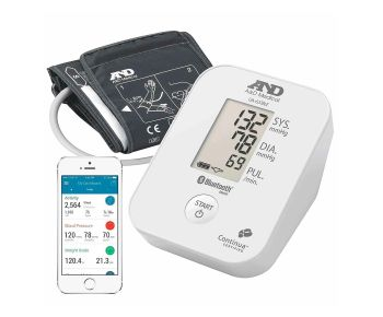 A&D Medical UA-651BLE Connected Upper Arm Blood Pressure Monitor