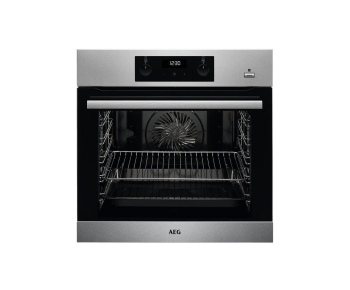 AEG Built In Electric Single Oven - Stainless Steel - A Energy Rated