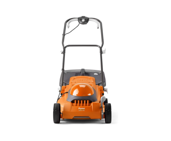 Flymo EasiMow 380R Electric Rotary Lawn Mower - 38 cm Cutting Width, 45 Litre Grass Box, Close Edge Cutting, Rear Roller, Central Height Adjust, Comfortable...