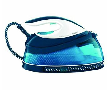 Philips GC7805/20 PerfectCare Compact Steam Generator Iron - White and Blue