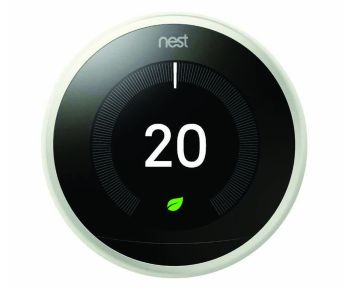 Google Nest T3030EX Learning Thermostat 3rd Gen - White