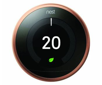 Google Nest T3031EX Learning Thermostat 3rd Gen - Copper