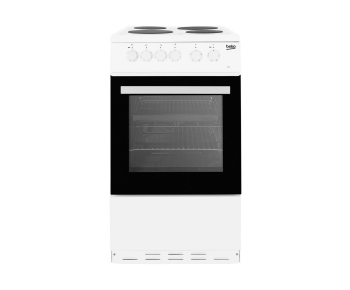Beko ESP50W 50cm Single Oven Electric Cooker - A Rated