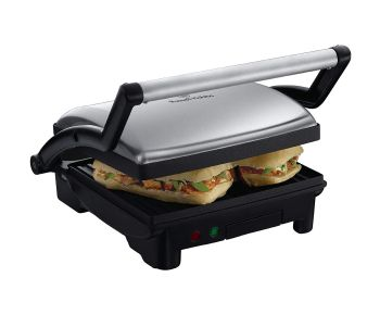 Russell Hobbs 17888 3-in-1 Panini Press, Grill and Griddle - Stainless Steel