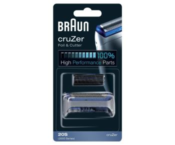 Braun 20S Foil And Cutter Replacement Pack, Series 2000 CruZer