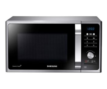 Samsung MS23F301TAS Solo Microwave Oven in Silver Tact