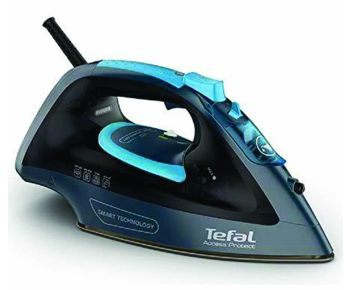 Tefal FV1611 Access Protect Steam Iron - Black and Blue