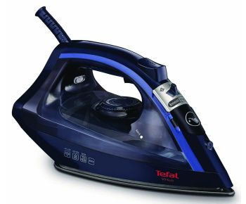 Tefal FV1713 Virtuo Steam Iron - Black and Blue