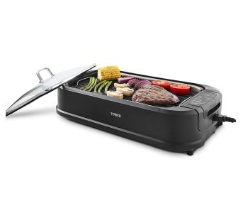 Tower T16026 Non Stick Smokeless Grill - Black