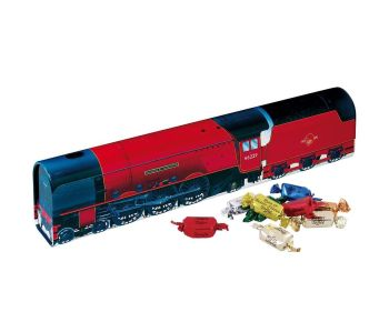 NRM Duchess of Hamilton Red Metal Train Storage Tin Assorted Toffee Filled